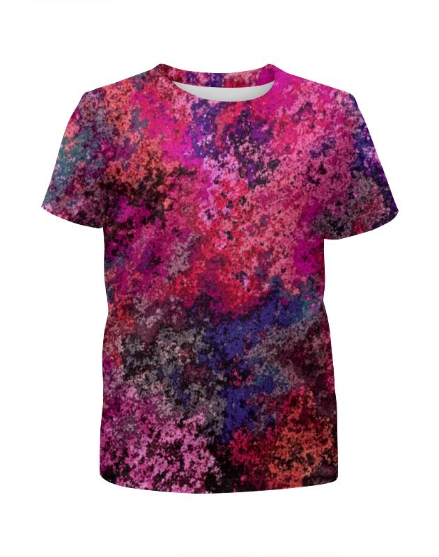 Printio Брызги футболка с полной запечаткой для девочек printio брызги красок