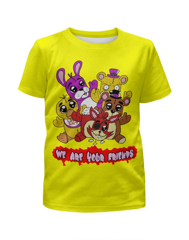 Printio Пять ночей у фредди футболка с полной запечаткой для девочек printio пять ночей у фредди freddy