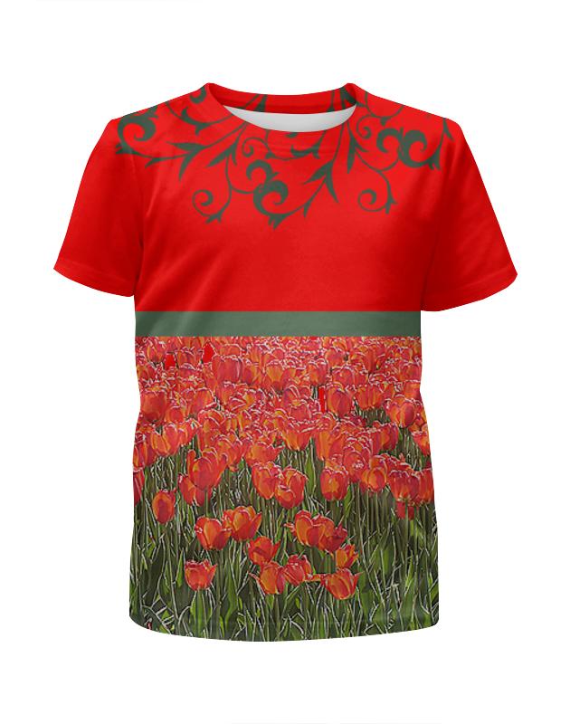 Printio Алые тюльпаны. цена и фото