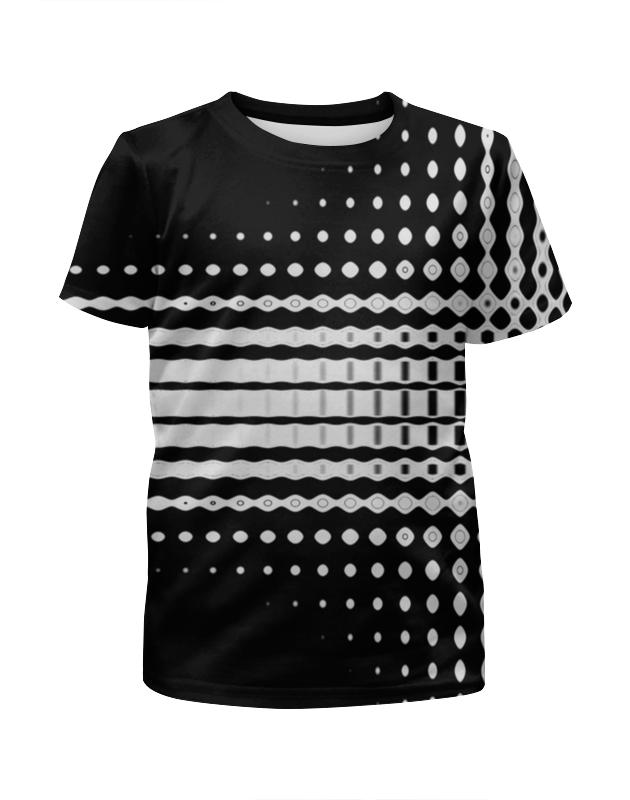 Фото - Футболка с полной запечаткой для девочек Printio Узоры футболка с полной запечаткой для девочек printio белые узоры