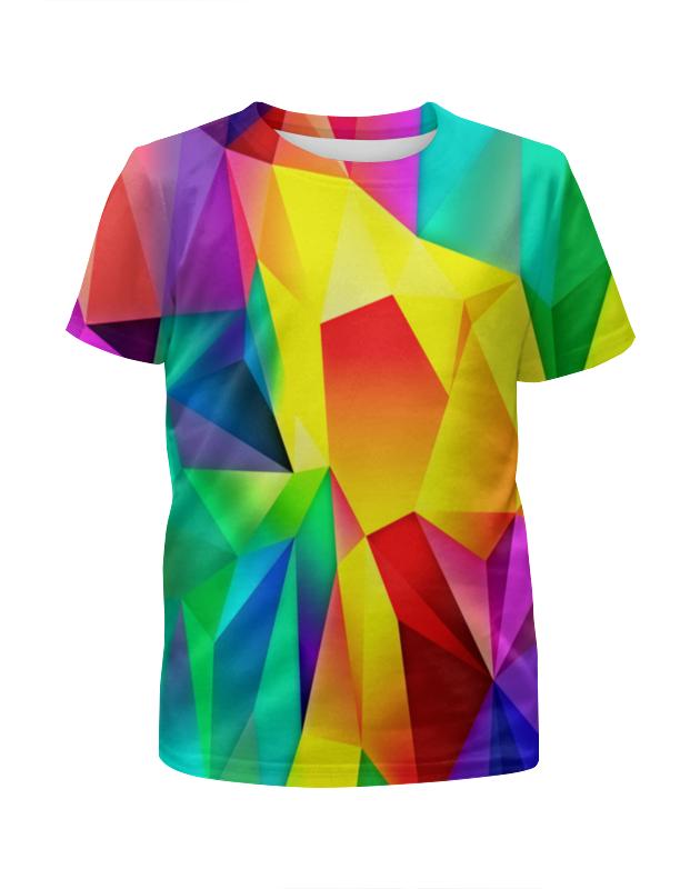 Футболка с полной запечаткой для девочек Printio Абстрактный узор футболка с полной запечаткой для девочек printio попугаи
