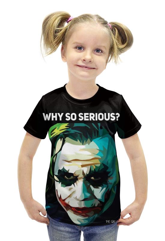 Футболка с полной запечаткой для девочек Printio Джокер футболка с полной запечаткой для девочек printio spawn