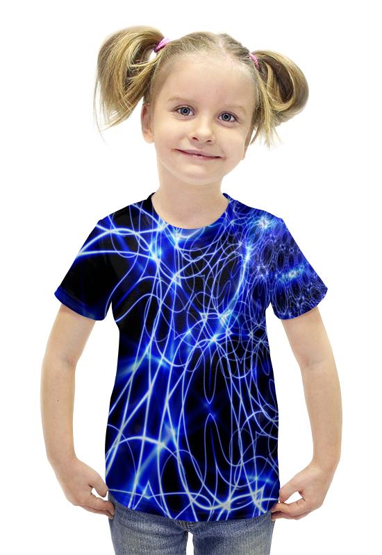 Футболка с полной запечаткой для девочек Printio Искрящийся футболка с полной запечаткой для девочек printio пртигр arsb