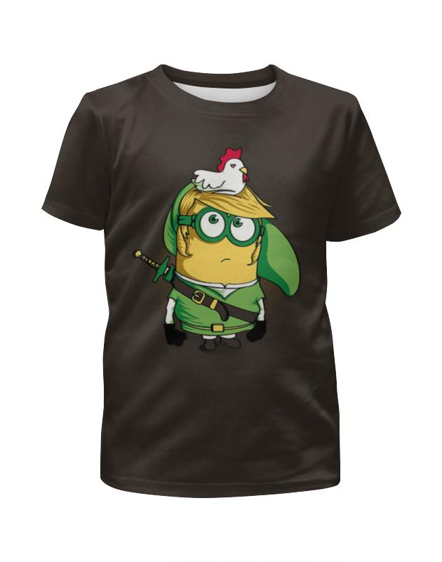 Футболка с полной запечаткой для девочек Printio Миньоны футболка с полной запечаткой для девочек printio joker