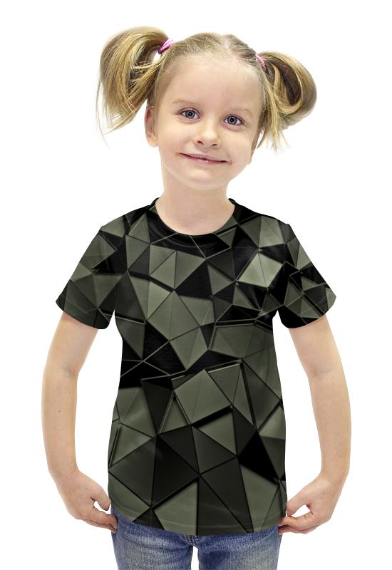 Футболка с полной запечаткой для девочек Printio Стекла футболка с полной запечаткой для девочек printio пртигр arsb