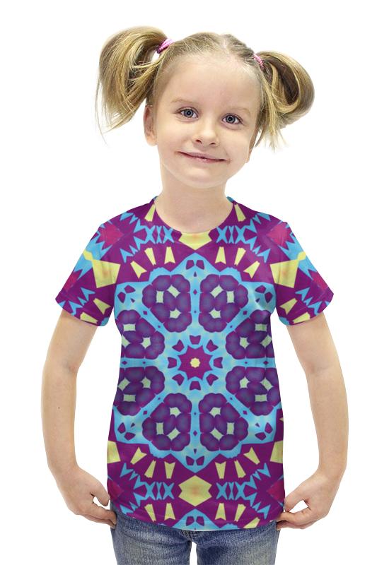 Футболка с полной запечаткой для девочек Printio Echofusion футболка с полной запечаткой для девочек printio пртигр arsb