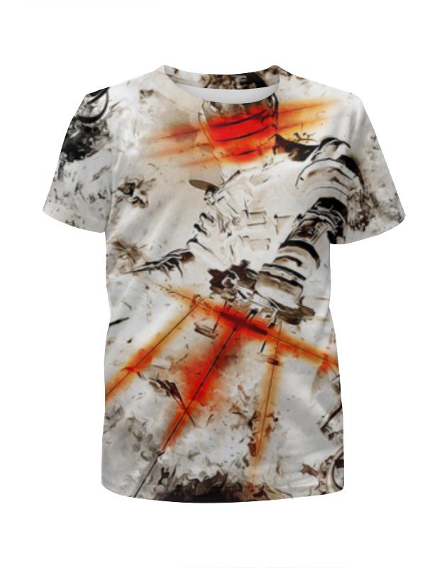 Футболка с полной запечаткой для девочек Printio Dead space футболка с полной запечаткой printio love and dead