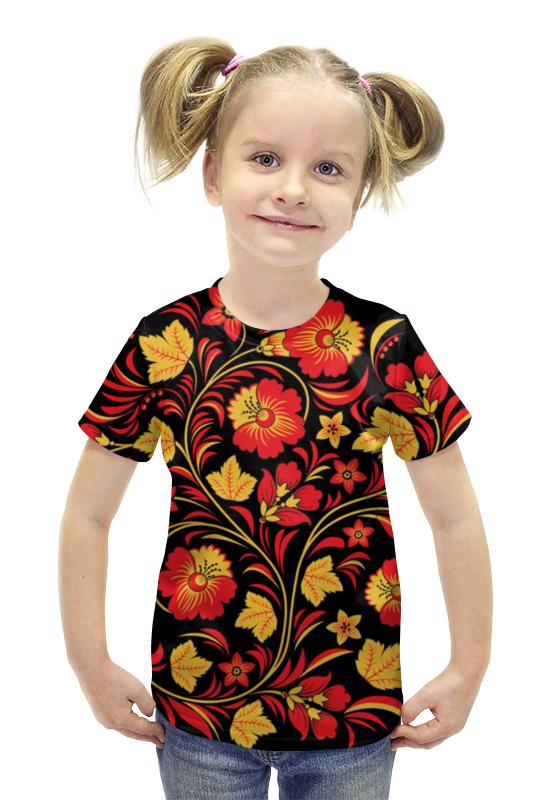 Футболка с полной запечаткой для девочек Printio Русь футболка с полной запечаткой для девочек printio пртигр arsb