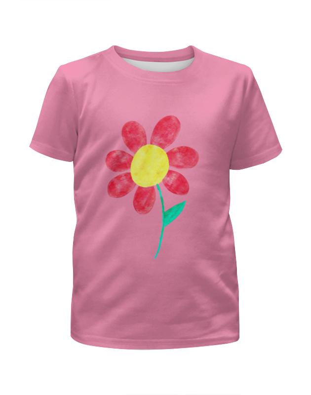 Футболка с полной запечаткой для девочек Printio Flowers футболка с полной запечаткой для девочек printio flowers