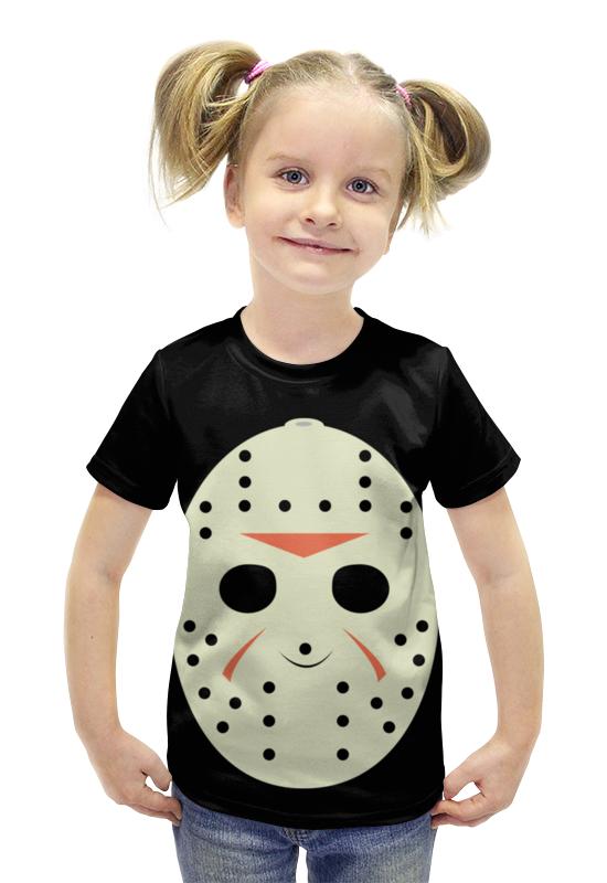 Футболка с полной запечаткой для девочек Printio Джейсон вурхиз (пятница 13) футболка с полной запечаткой для девочек printio джейсон
