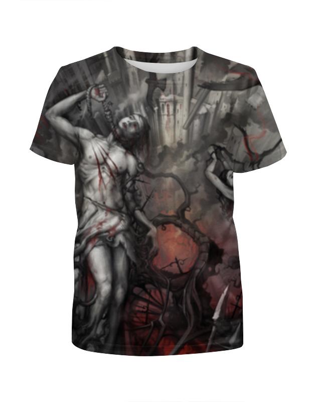 Футболка с полной запечаткой для девочек Printio Семь кругов ада футболка с полной запечаткой для девочек printio восставший из ада