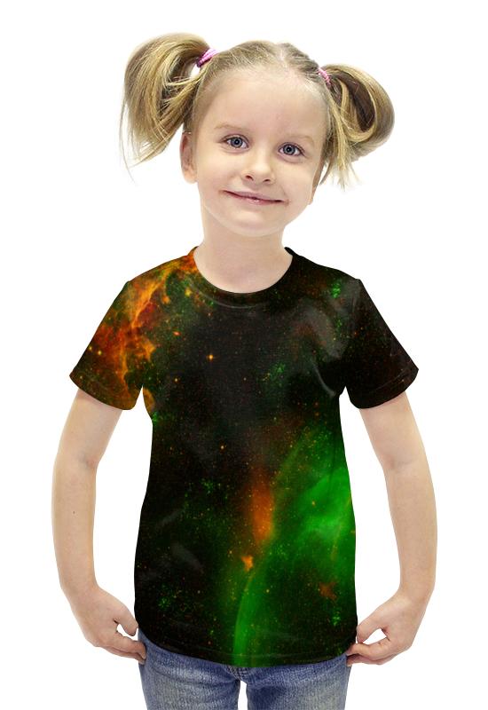 Футболка с полной запечаткой для девочек Printio Вселенная футболка с полной запечаткой для девочек printio spawn
