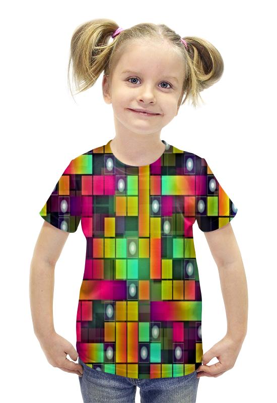Футболка с полной запечаткой для девочек Printio Графика футболка с полной запечаткой для девочек printio пртигр arsb