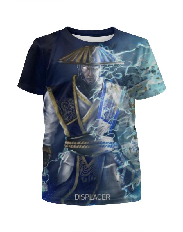 Футболка с полной запечаткой для девочек Printio Mortal kombat футболка с полной запечаткой для девочек printio пртигр arsb