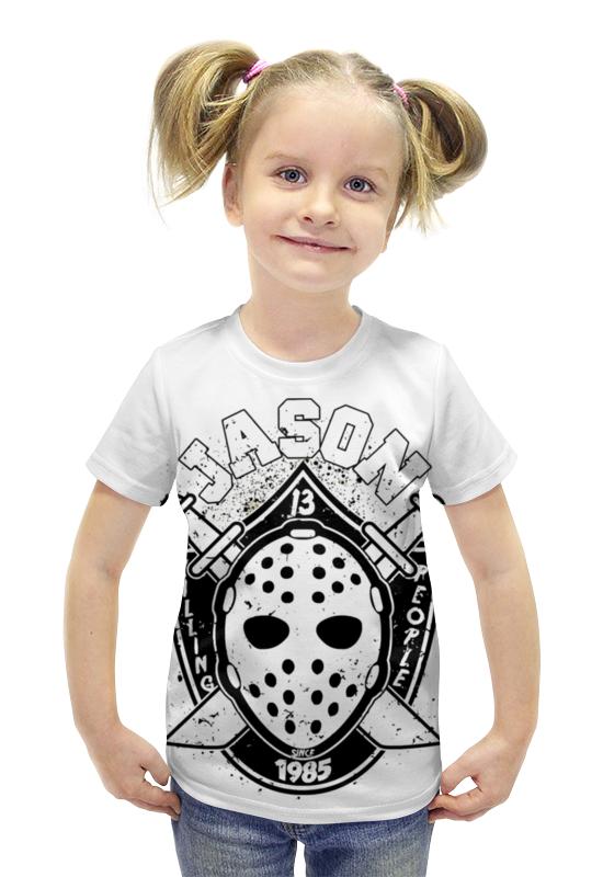Футболка с полной запечаткой для девочек Printio Джейсон вурхиз (пятница 13-е) футболка с полной запечаткой для девочек printio джейсон