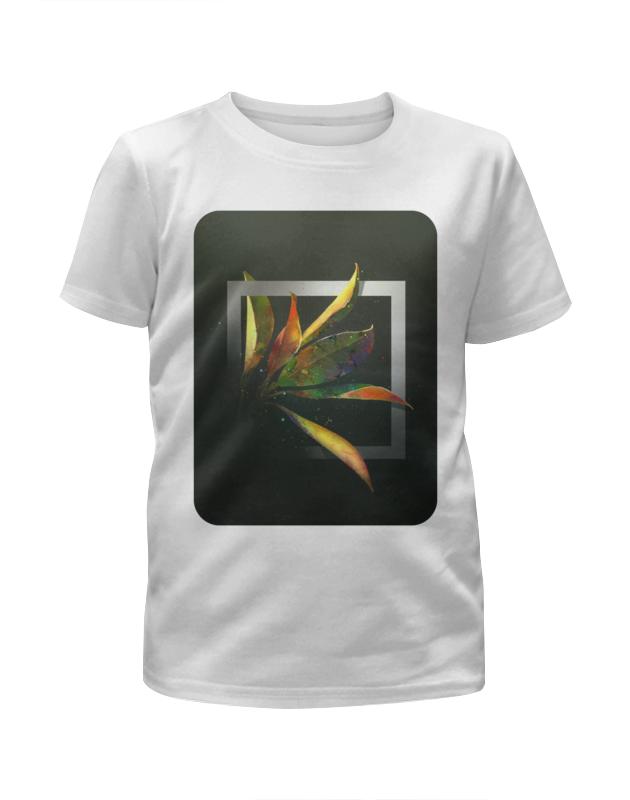 Футболка с полной запечаткой для девочек Printio Магнолия футболка с полной запечаткой для девочек printio волшебник