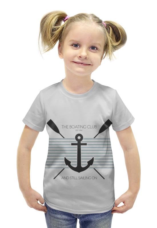 Футболка с полной запечаткой для девочек Printio Морской волк костюмы на морскую тему для девочек 12 лет