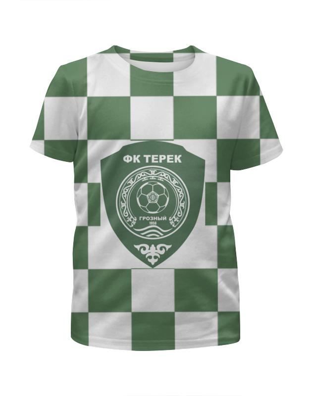 Футболка с полной запечаткой для девочек Printio Терек пфк футболка с полной запечаткой мужская printio терек пфк