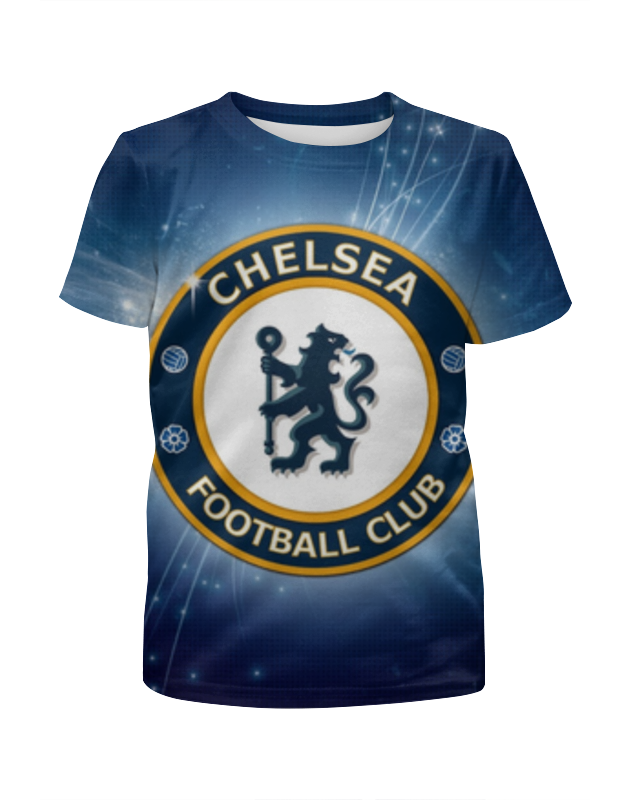 Футболка с полной запечаткой для девочек Printio Chelsea (челси) сумка printio челси