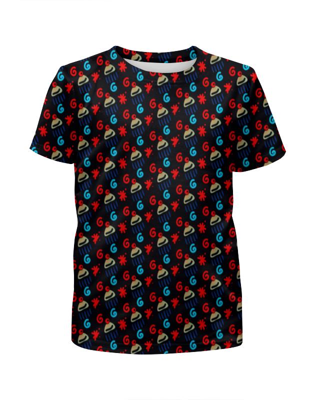 Футболка с полной запечаткой для девочек Printio Кексик футболка с полной запечаткой мужская printio кексик