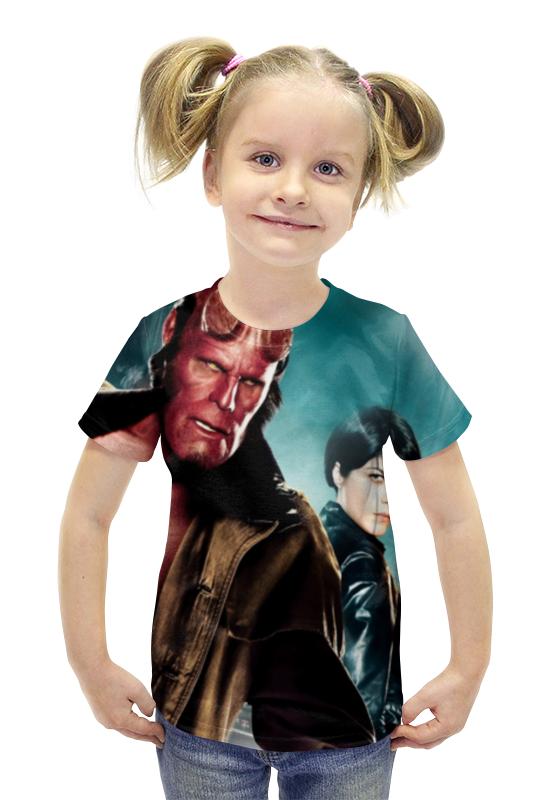 Футболка с полной запечаткой для девочек Printio Хеллбой / hellboy футболка с полной запечаткой для девочек printio хеллбой hellboy