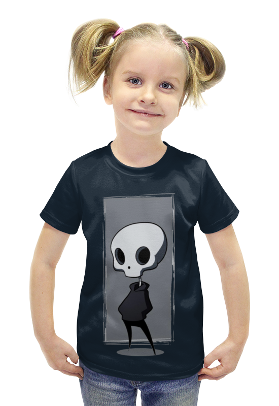Футболка с полной запечаткой для девочек Printio Нло. футболка с полной запечаткой для девочек printio пртигр arsb