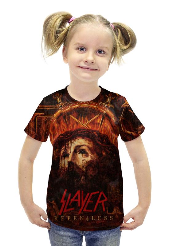 Футболка с полной запечаткой для девочек Printio Slayer repentless 2015 (1)