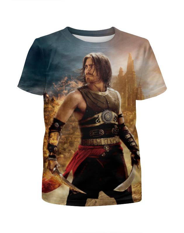 Футболка с полной запечаткой для девочек Printio Принц персии футболка с полной запечаткой для девочек printio spawn
