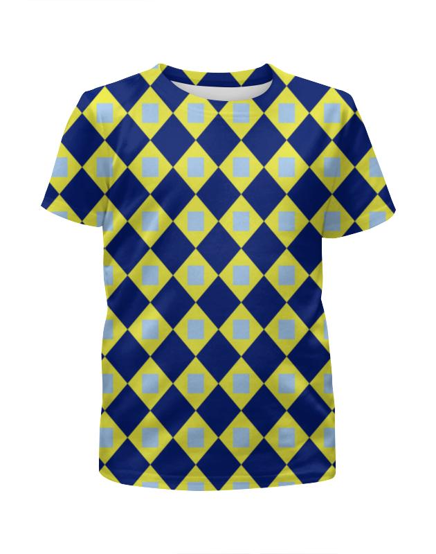 Футболка с полной запечаткой для девочек Printio Графический узор футболка с полной запечаткой для девочек printio пртигр arsb
