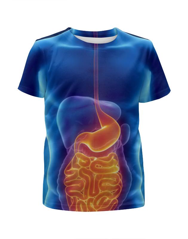 Футболка с полной запечаткой для девочек Printio X-ray man футболка с полной запечаткой для девочек printio a very merry x mas