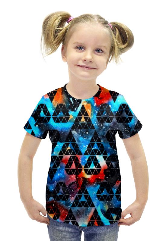 Футболка с полной запечаткой для девочек Printio Орнамент футболка с полной запечаткой для девочек printio spawn