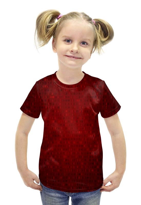 Футболка с полной запечаткой для девочек Printio Цифры футболка с полной запечаткой для девочек printio пртигр arsb