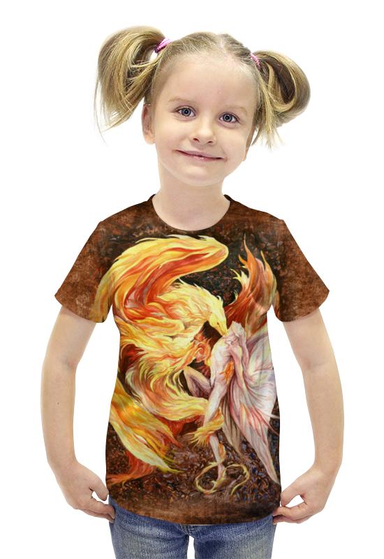 Футболка с полной запечаткой для девочек Printio Танец жизни футболка с полной запечаткой для девочек printio война миров z