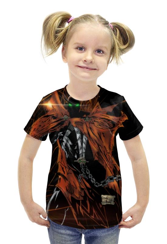 Футболка с полной запечаткой для девочек Printio Spawn футболка с полной запечаткой printio bats spawn arsb