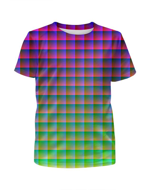 Футболка с полной запечаткой для девочек Printio Optical illusion футболка с полной запечаткой для девочек printio пртигр arsb