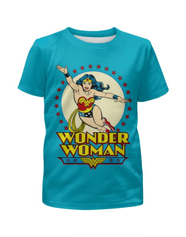 Футболка с полной запечаткой для девочек Printio Чудо-женщина футболка с полной запечаткой для девочек printio чудо женщина