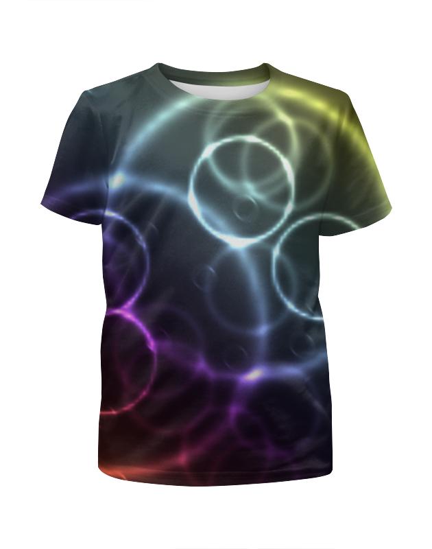 Фото - Printio Круги футболка с полной запечаткой для девочек printio геометрический