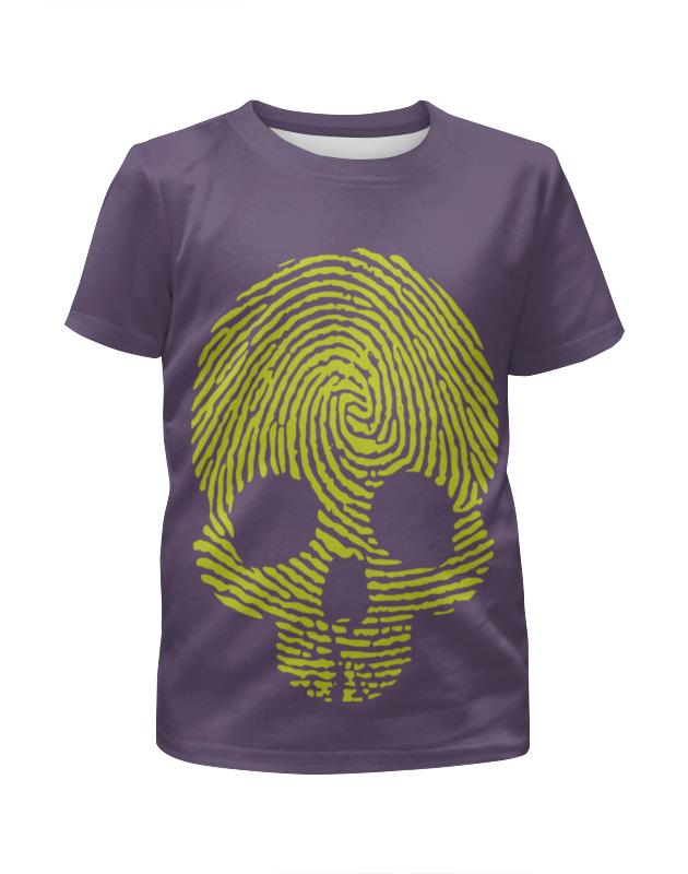 Футболка с полной запечаткой для девочек Printio Отпечаток в виде черепа футболка с полной запечаткой для мальчиков printio отпечаток в виде черепа