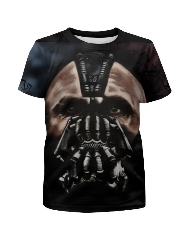 Футболка с полной запечаткой для девочек Printio Бэтмен(бэйн) футболка с полной запечаткой для девочек printio бэтмен