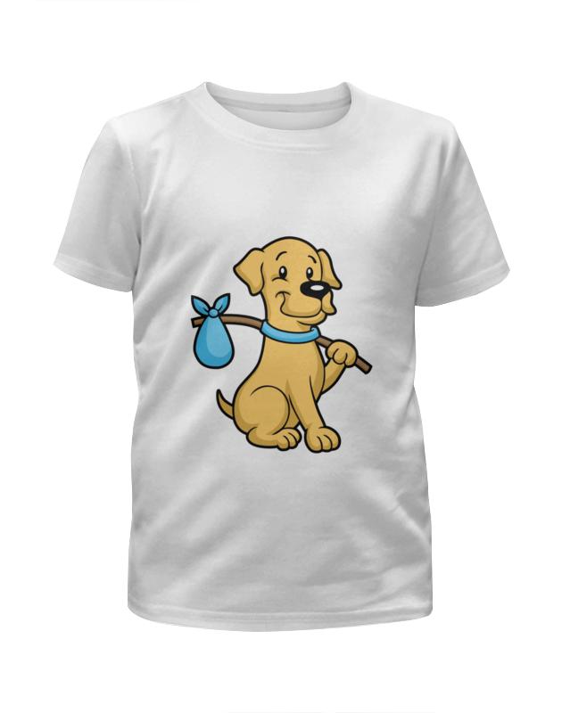 Футболка с полной запечаткой для девочек Printio Пёс-бродяга футболка с полной запечаткой для девочек printio пёс бродяга