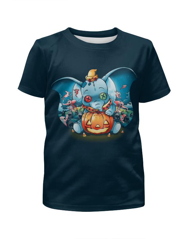 Футболка с полной запечаткой для девочек Printio Halloween футболка с полной запечаткой для девочек printio на отдых