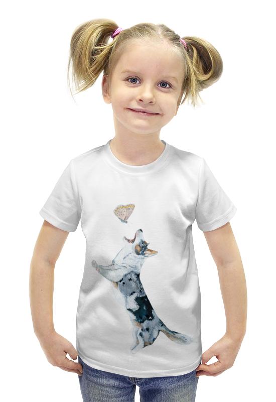 Футболка с полной запечаткой для девочек Printio Кардиган футболка с полной запечаткой для девочек printio пртигр arsb
