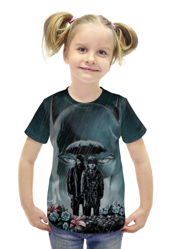 Футболка с полной запечаткой для девочек Printio Batman футболка с полной запечаткой для девочек printio пртигр arsb