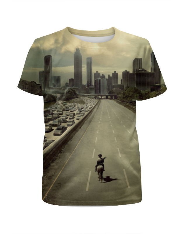 Футболка с полной запечаткой для девочек Printio The walking dead футболка с полной запечаткой printio love and dead