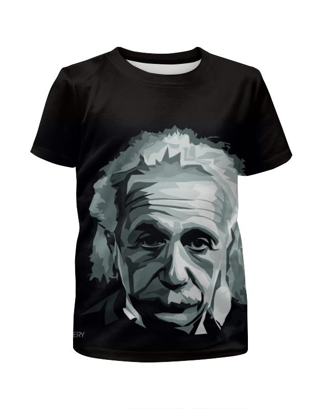 Футболка с полной запечаткой для девочек Printio Альберт эйнштейн рюкзак с полной запечаткой printio эйнштейн