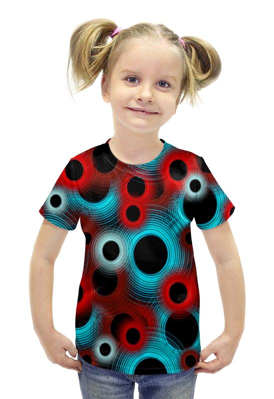 Футболка с полной запечаткой для девочек Printio Circle футболка с полной запечаткой для девочек printio пртигр arsb