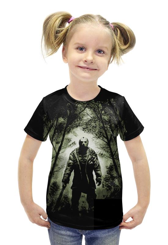 Футболка с полной запечаткой для девочек Printio Джейсон футболка с полной запечаткой для девочек printio пртигр arsb