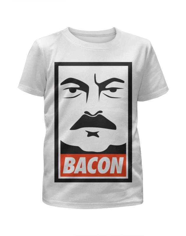Футболка с полной запечаткой для девочек Printio Ron swanson (bacon) ron dorff футболка