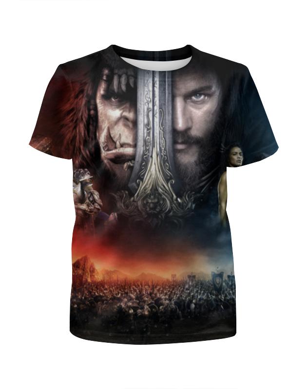 Футболка с полной запечаткой для девочек Printio Warcraft футболка с полной запечаткой для девочек printio ворона