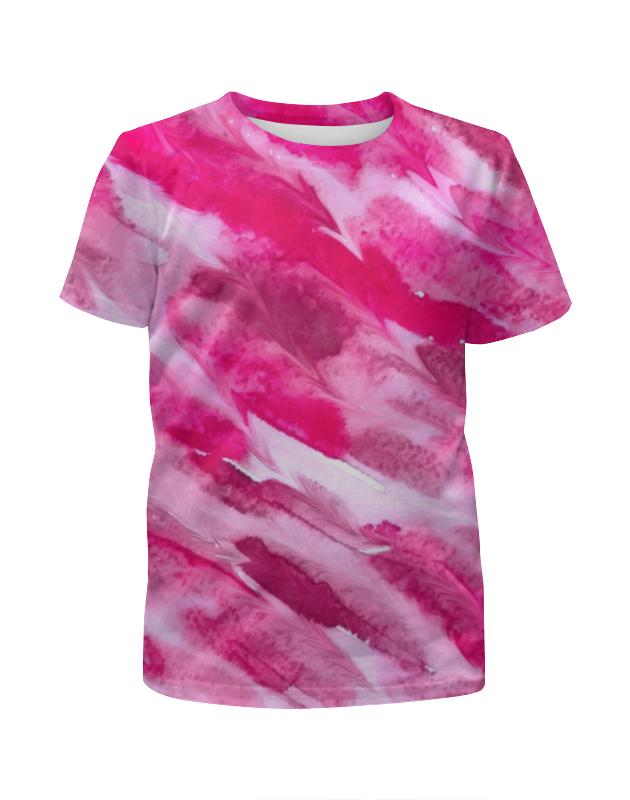 Фото - Футболка с полной запечаткой для девочек Printio Акварелька футболка с полной запечаткой для девочек printio family gay